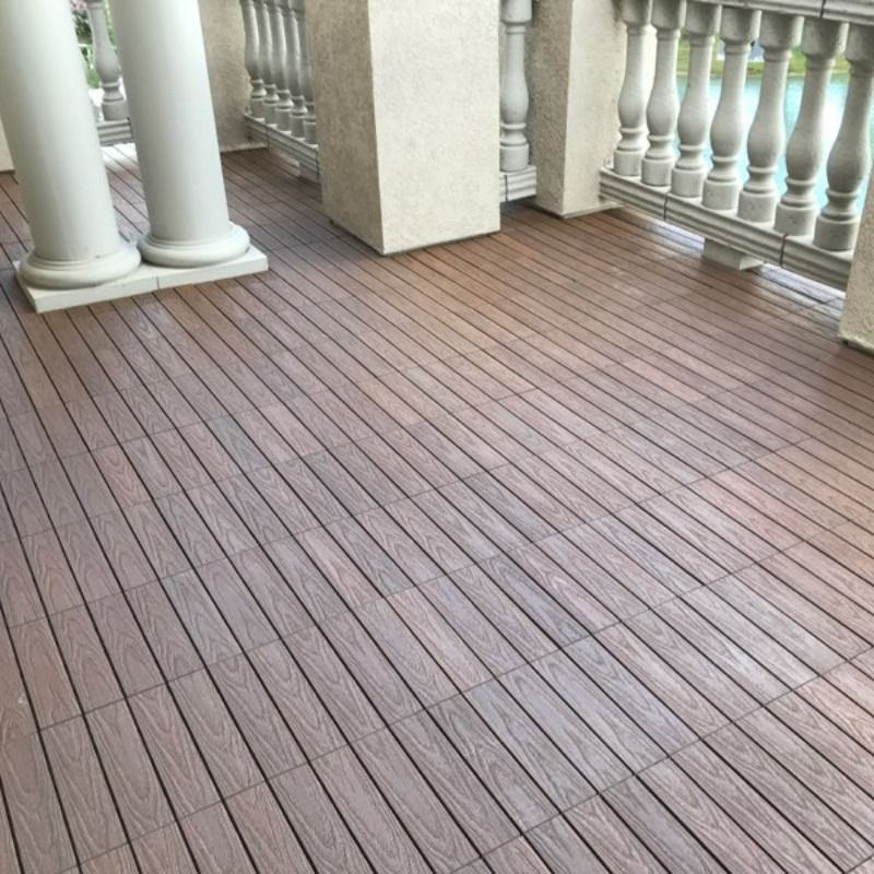 Newtechwood Deck Tile Installations In Brazilian Ipe 1x3
