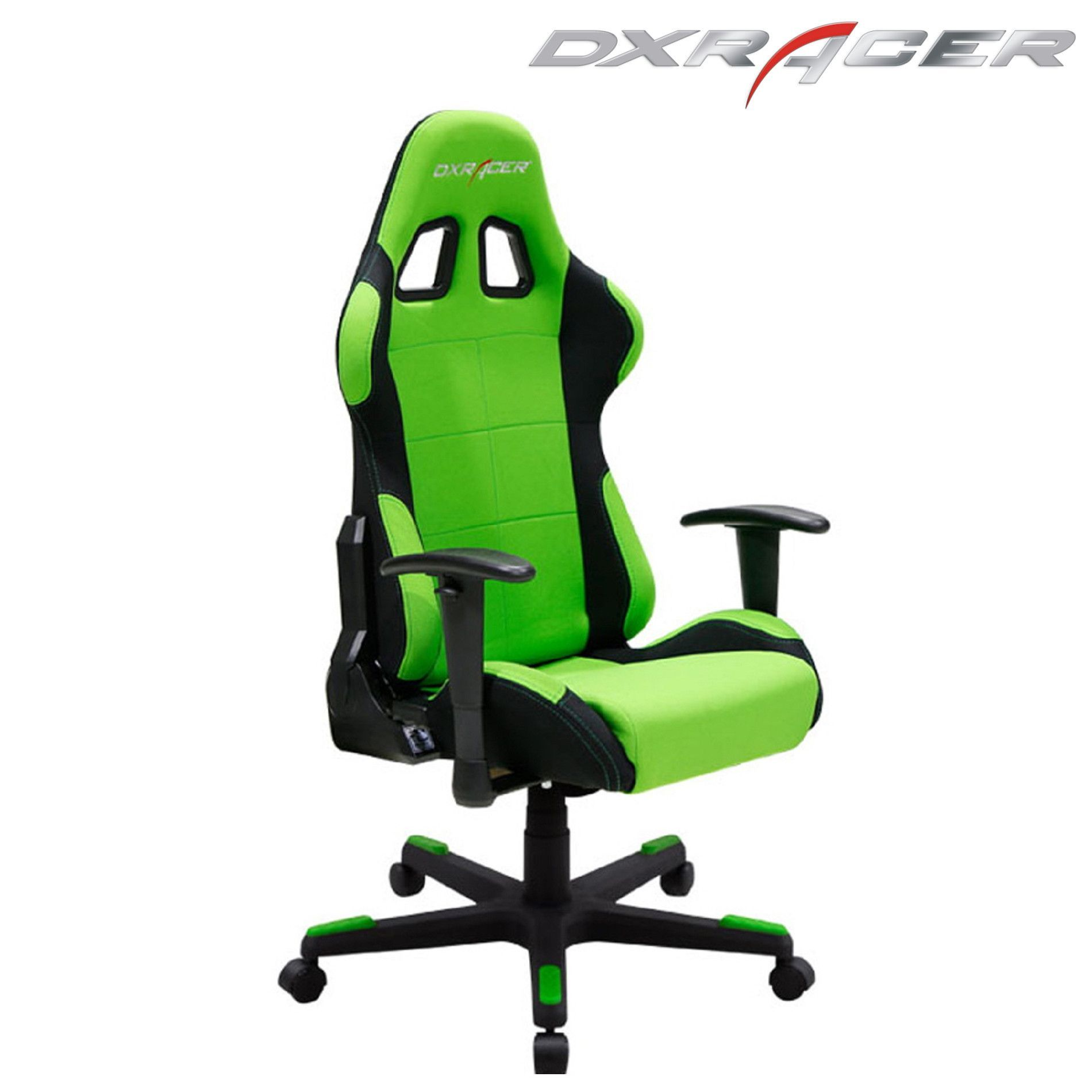 Dxracer Fd01en Office Chair Gaming Chair Automotive Seat Computer Chair Green Computer Chair Green Chair Office Gaming Chair