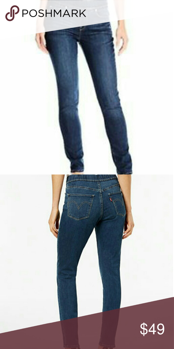 1444974d1da6e5 Levi's Perfectly Slimming Pull-on Legging A skinny fit & medium wash make Levi's  leggings forever classics. The thick banded waist & pull on design offers  ...