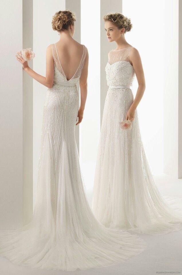 Robe de mariée Rosa clarà modèle Ugo ♡ |