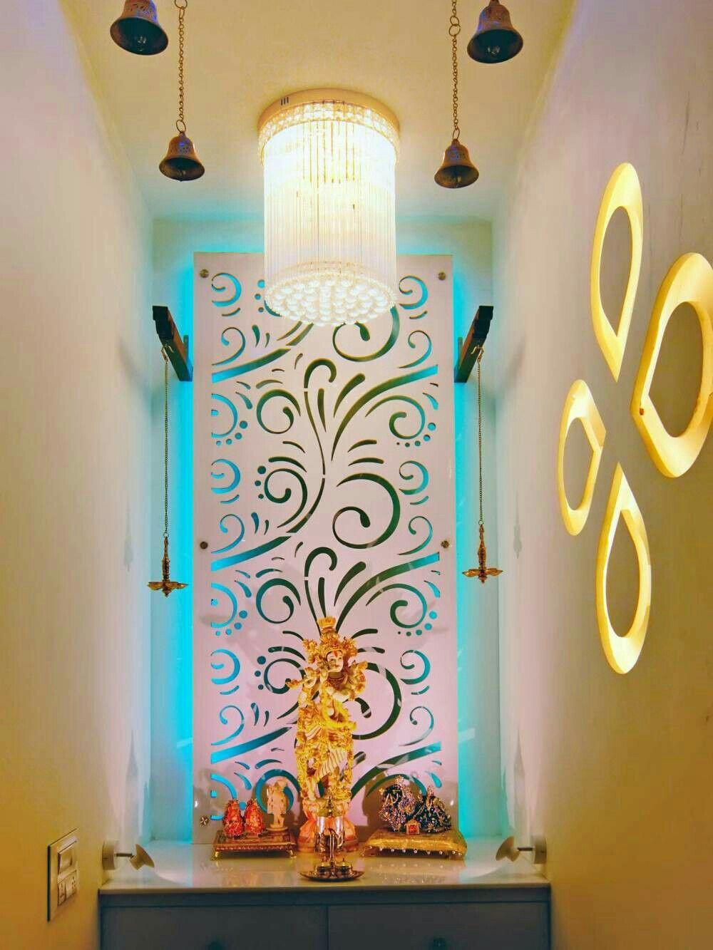 Modern Pooja Doors Google Search: Pin By Abanti Mustafi On Puja Area