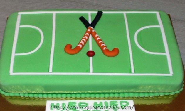 Field Hockey Themed Birthday Cakes Hockey Birthday Cake Hockey Birthday Themed Birthday Cakes