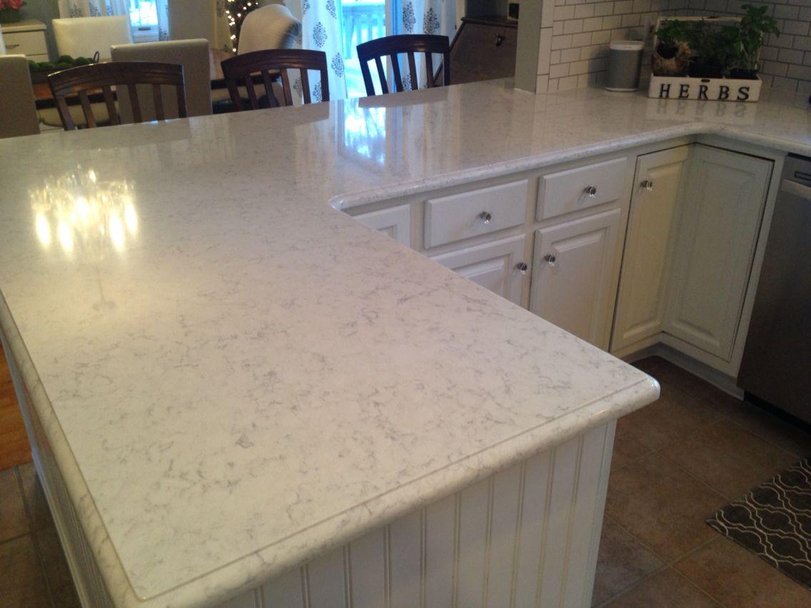 Viatera Minuet Quartz countertops...!! | White kitchen dreams ... on montgomery kitchens, royal palace kitchens, atlantic kitchens,