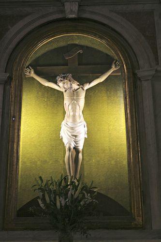 Ss.mo Redentore attr. Antonio Pardini (sec. XVI) Toscana Camaiore Lucca #TuscanyAgriturismoGiratola