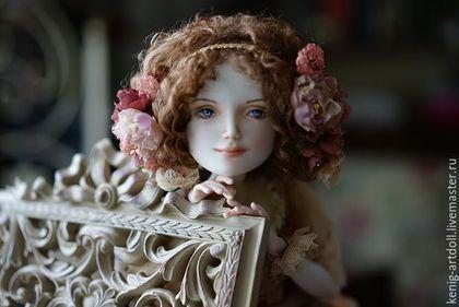 Handmade BJD art doll  /  Шарнирная фарфоровая кукла из Adele — работа дня на Ярмарке Мастеров.  Узнать цену и купить: www.kenig-artdoll.livemaster.ru
