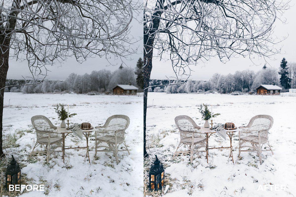 Festive Winter Preset Bundle