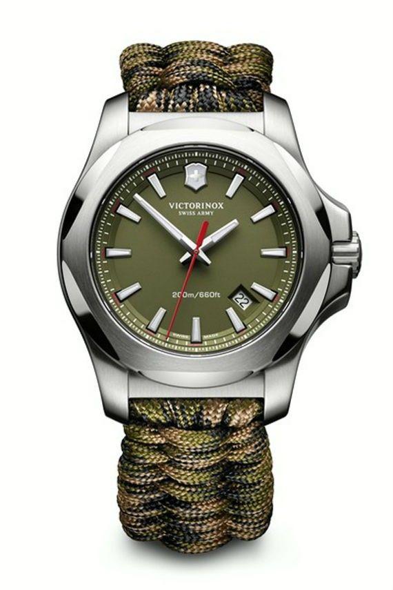 d669f6d1afd Novo Relógio Victorinox Tem Pulseira Paracord