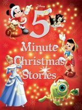 DISNEY 5-MINUTE CHRISTMAS STORIES by Disney Book Group Paper over Board