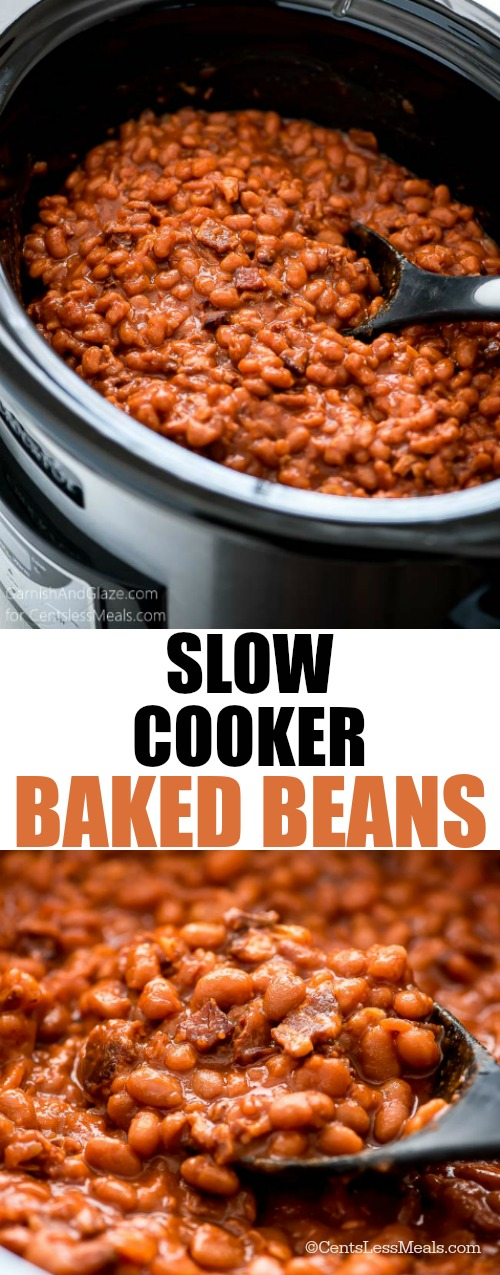 Crock Pot Baked Beans - CentsLess Meals