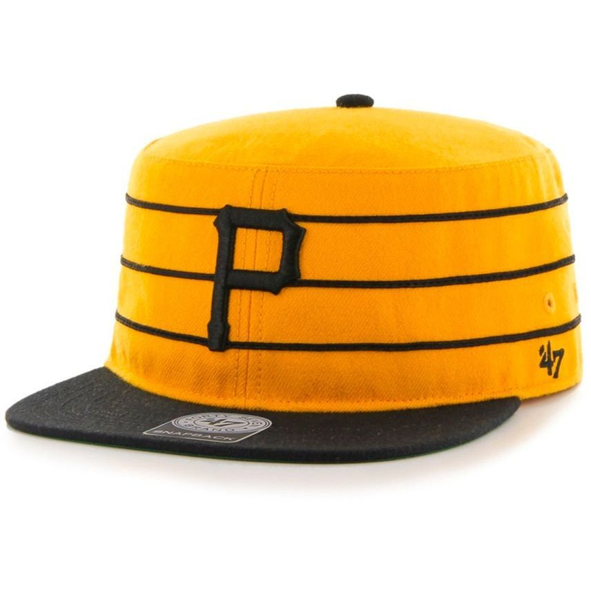 designer fashion be887 94bab  47 Brand Pittsburgh Pirates Pillbox Hat.