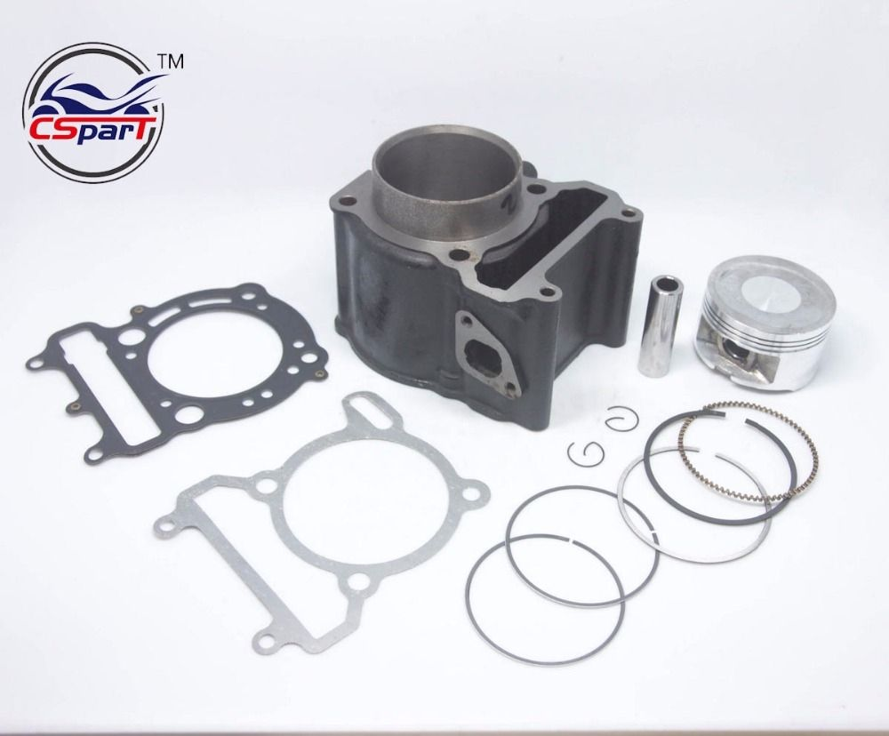 69mm Engine Rebuild Cylinder kit for Tank Manco Talon Linhai Buyang Style  Engine VOG YP 250CC