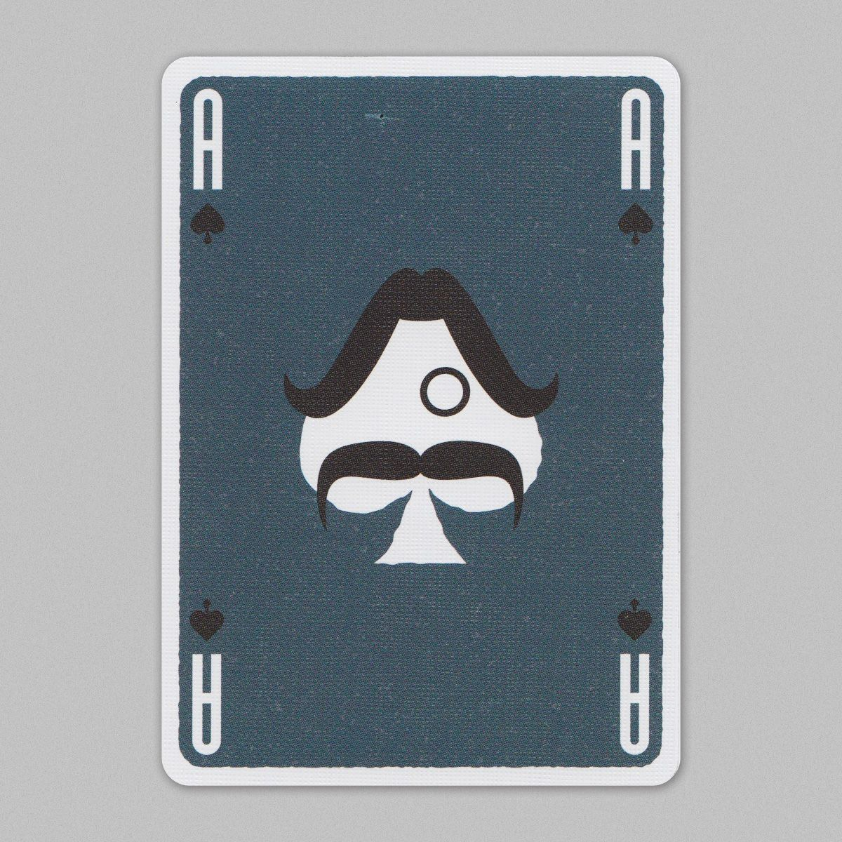 Mustache playing cards aceofspades cartes carte