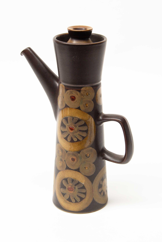 Denby arabesquesamarkand tall large coffee pot in 2020