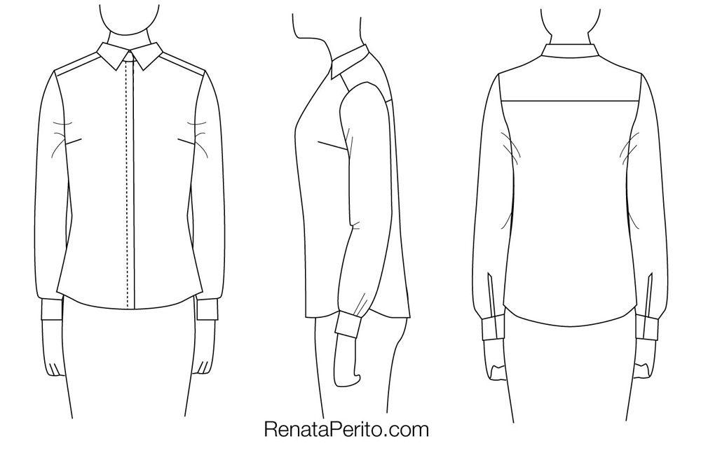 4ad5930895 Como ajustar a modelagem de uma camisa