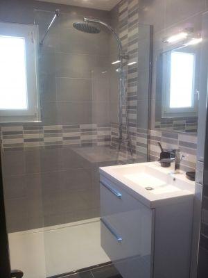 Une petite salle de bain qui a tout d\'une grande ! - Côté douche ...