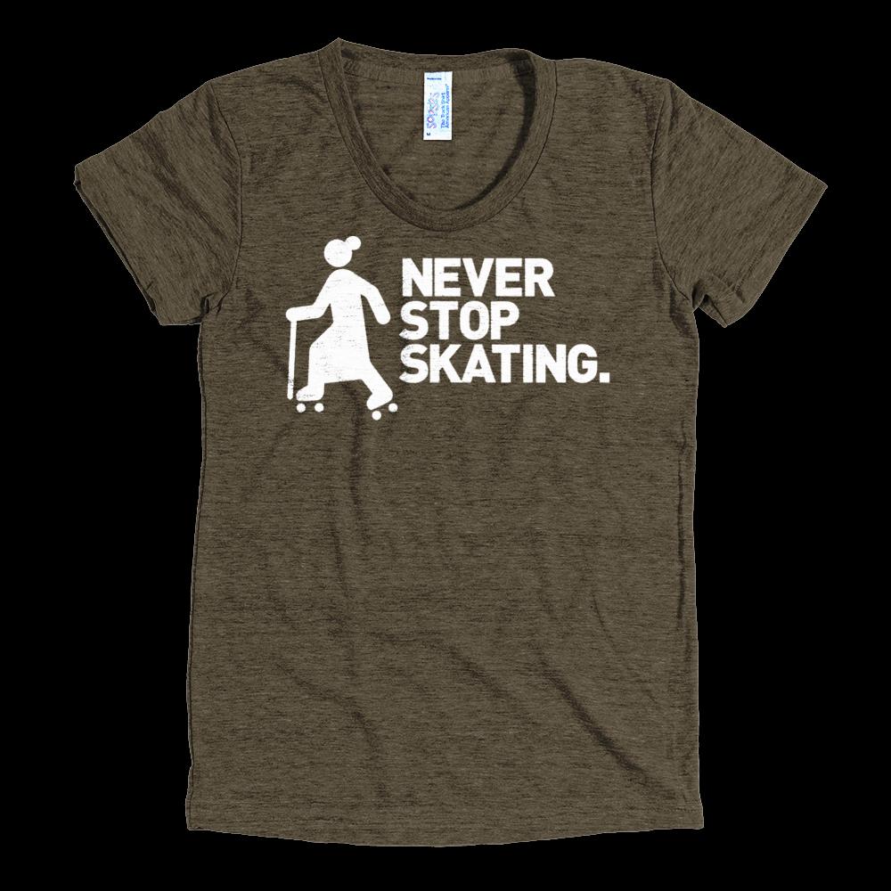 Ada Never Stop Skating Tee