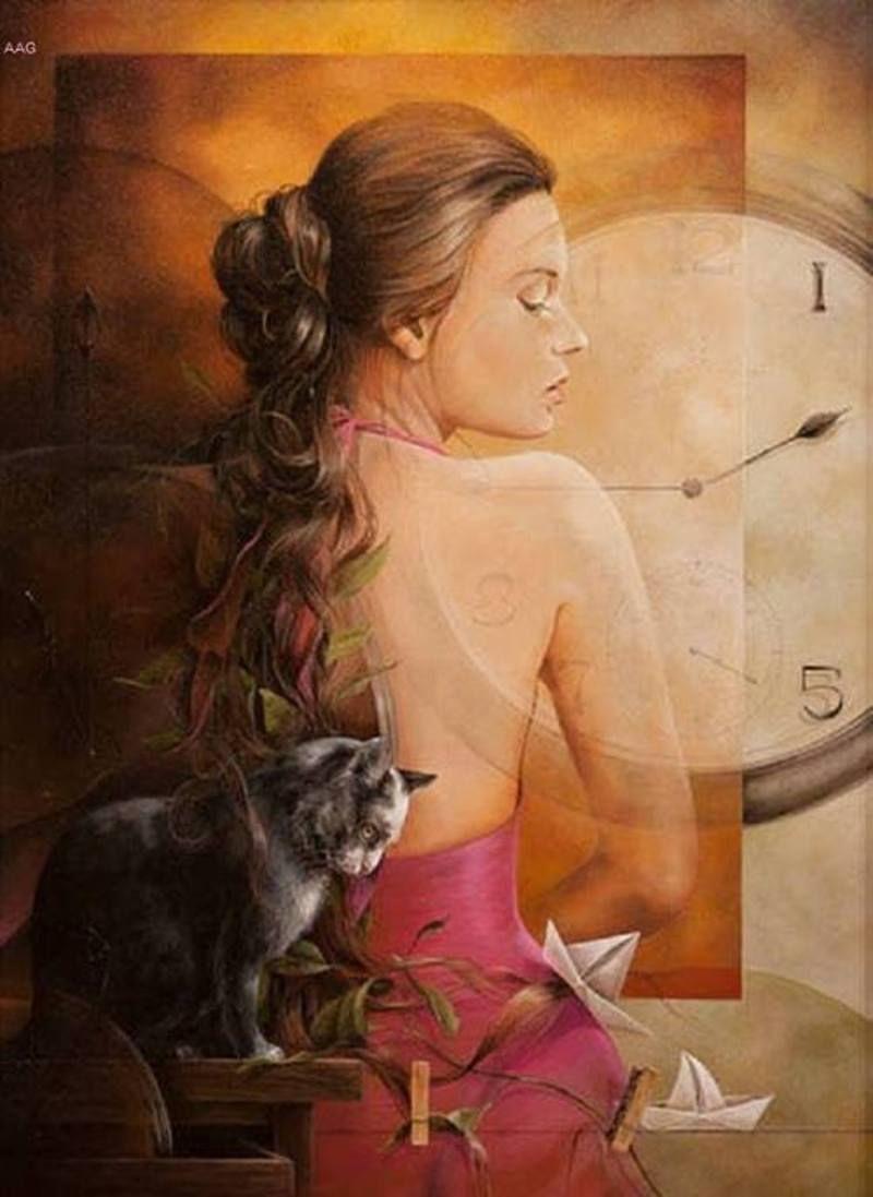 Sanjuan Chelin Piquero Belles Peintures Art Surrealiste Les Arts