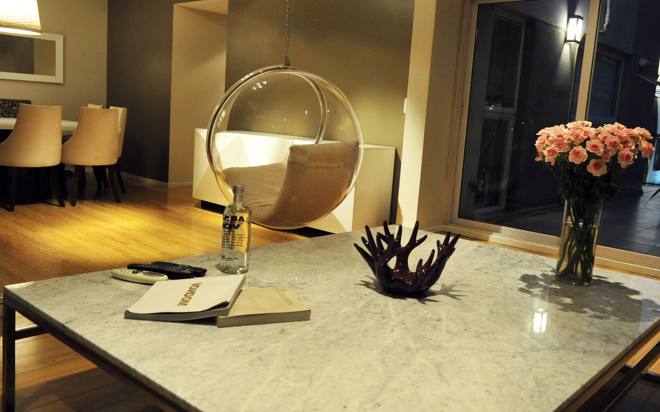 Mesa ratona de marmol hogar moderno pinterest for Mesa ratona