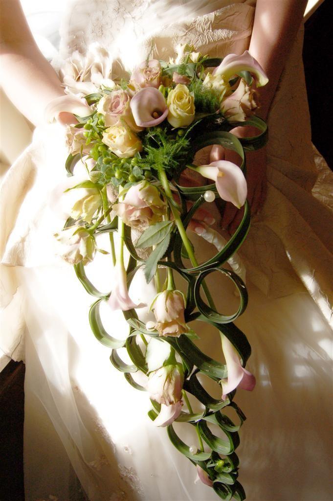 Виды свадебных букетов букет скипетров, цветы