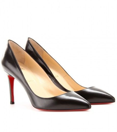 pretty nice b8492 92821 Christian Louboutin Black Pigalle 85 Leather Pumps - too bad ...