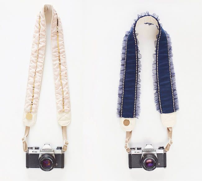 ** Oh my goodness - so so lovely. And I so so want. ::::: Camera Straps from Bloom Theory
