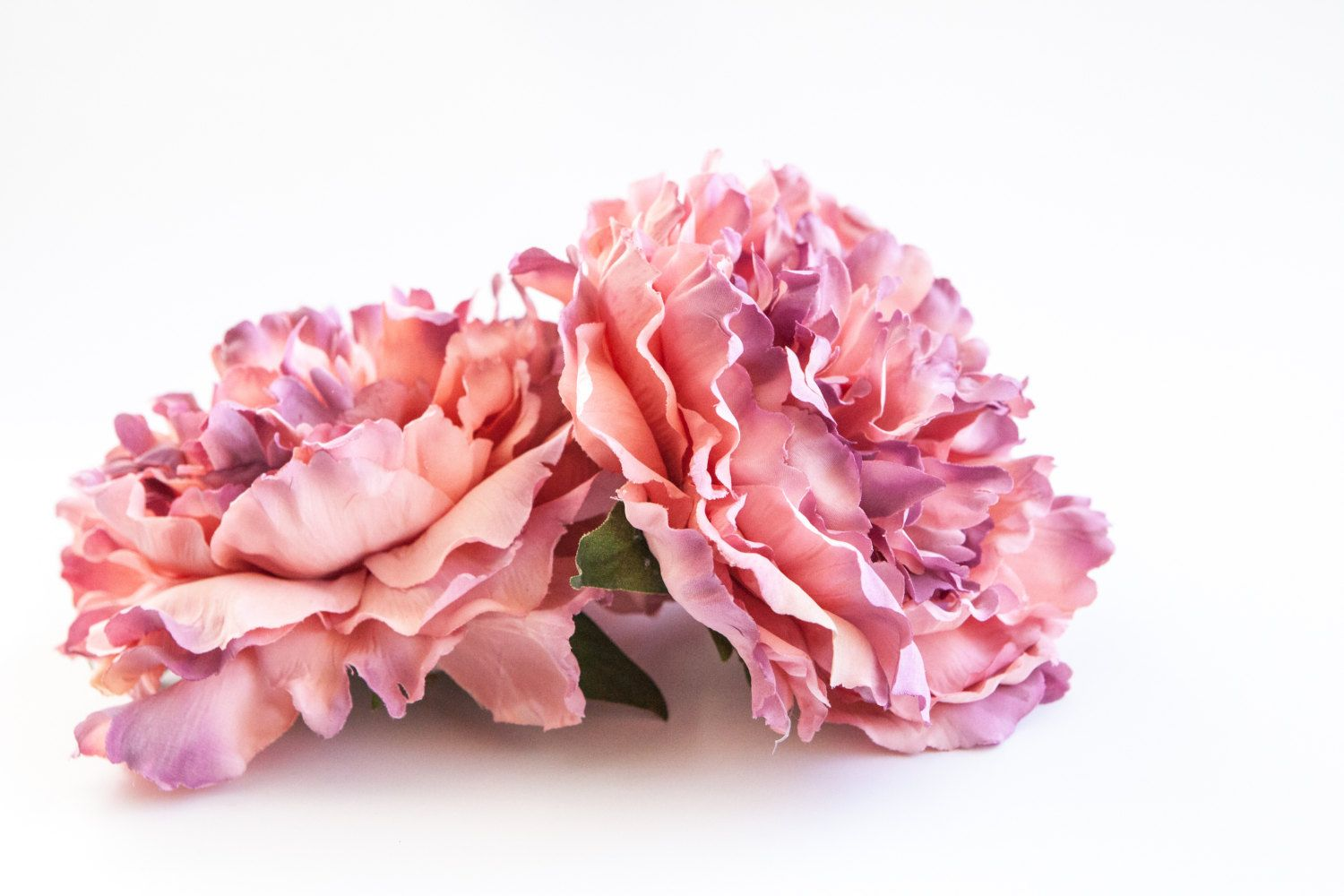 Stunning Extra Large French Peony In Antique Lavender And Mauve Pink
