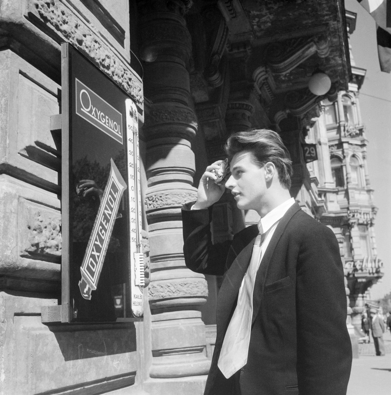 Heinäkuun hellettä (+29 astetta) v. 1956