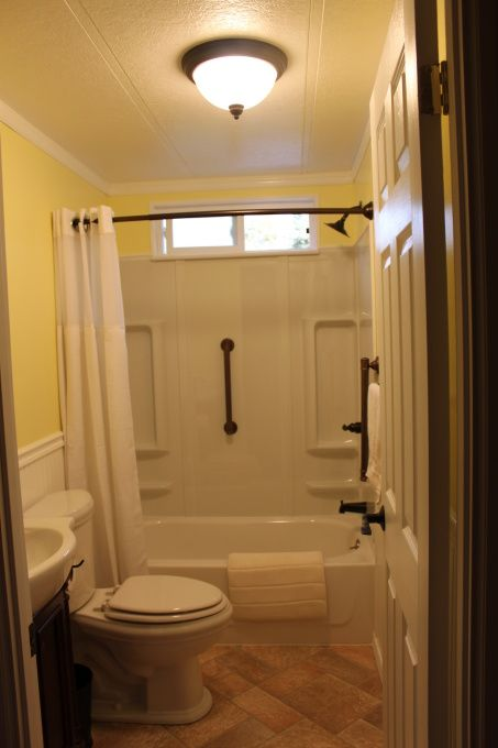 Manufactured Home Bathroom Remodel