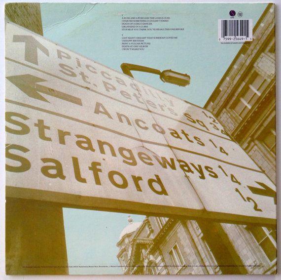 The Smiths Strangeways Here We Come Lp Vinyl Record