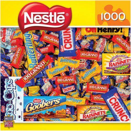 Candy Brands, Nestle: 1000 Pieces, Multicolor