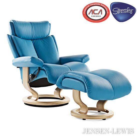 Stressless Magic Recliner With Images Stressless Recliner Ekornes Stressless Furniture