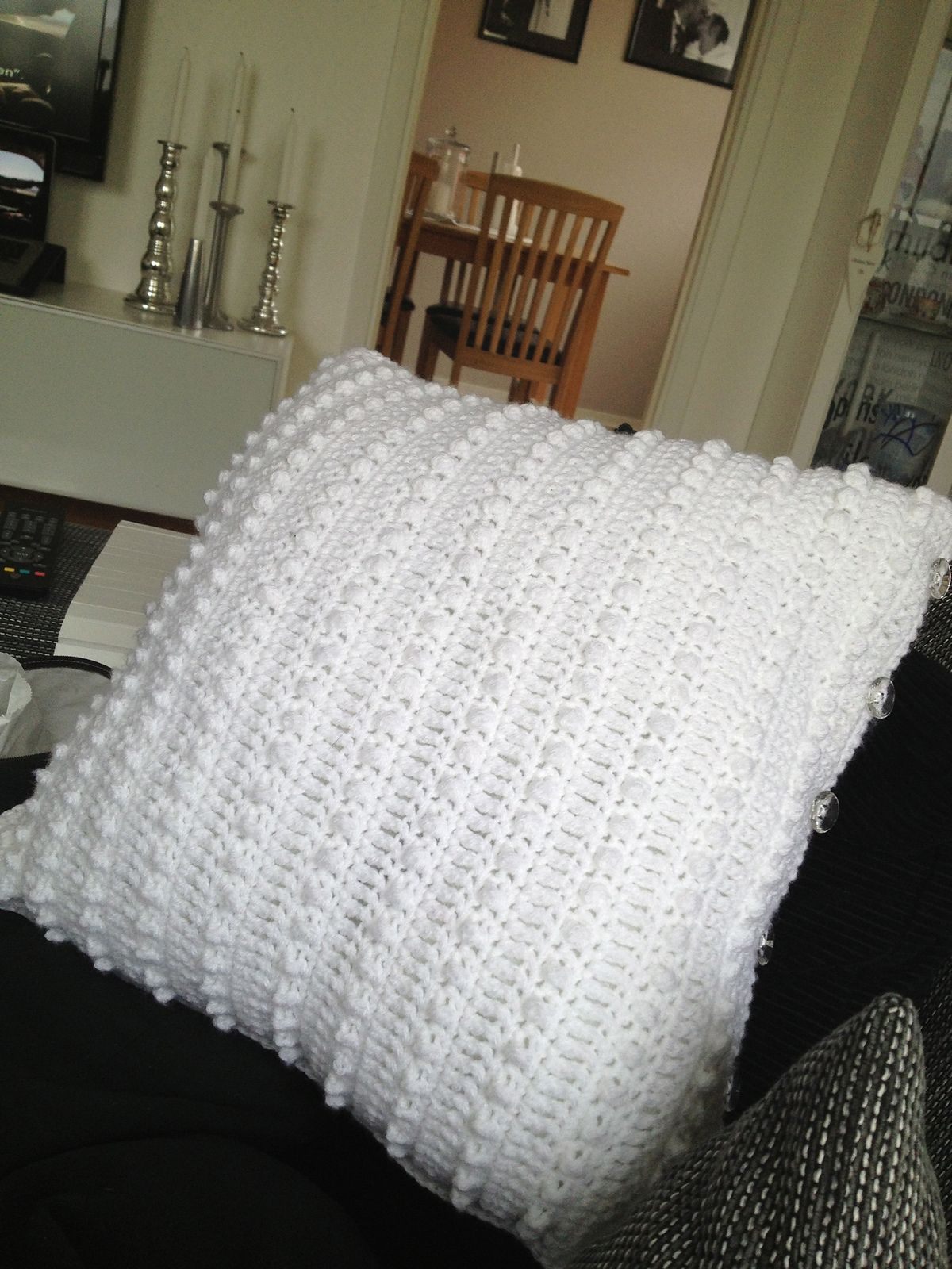 Romantic Pillow Cover By Rayn Blair - Free Crochet Pattern ...