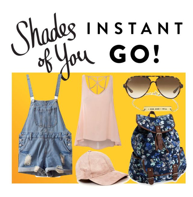 """""""Shades of You: Sunglass Hut Contest Entry"""" by jel-i-ana ❤ liked on Polyvore featuring Ray-Ban, Aéropostale, Isadora, Glamorous and shadesofyou"""