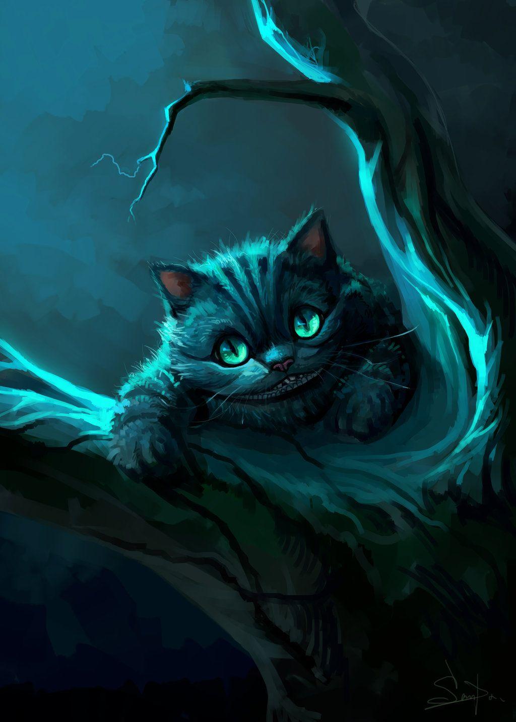 Alice In Wonderland Cheshire Cat Tattoo: Cheshire Cat2015 By SalamanDra-S.deviantart.com On