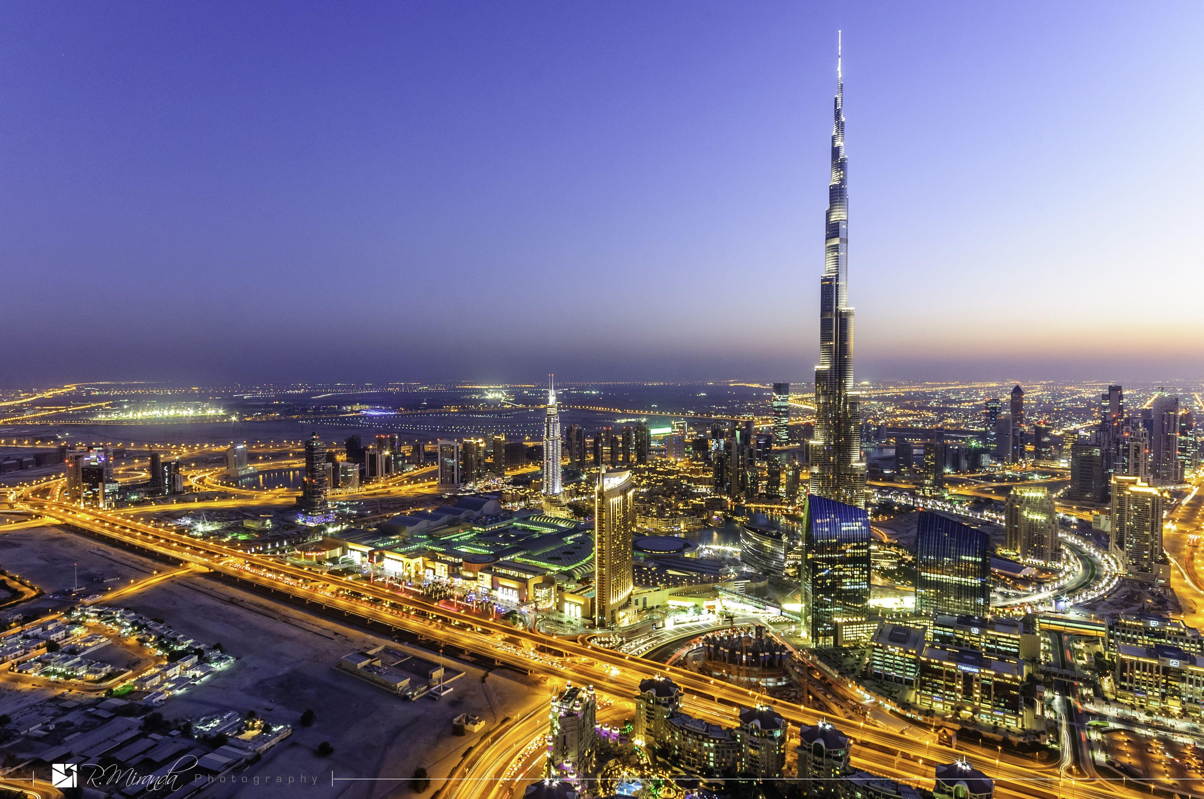 Blue Hour - Downtown Dubai