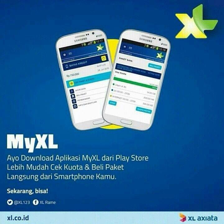 Lihat Myxl Https Play Google Com Store Apps Details Id Com Apps Myxl Aplikasi Smartphone