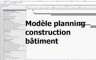 Planning Travaux Construction Maison Individuelle Planning Chantier Tableau Planning Travaux Renovation