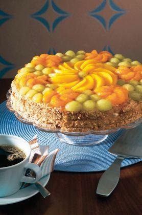 Gluteeniton hedelmätäytekakku | K-ruoka