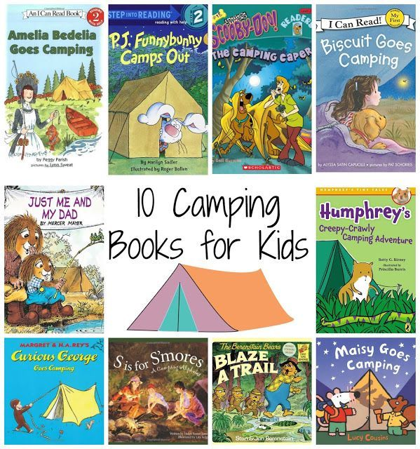 10 Camping Themed Books for Kids ||  Tons of Fun Camping Themed Activities for Kids at The Chirping Moms
