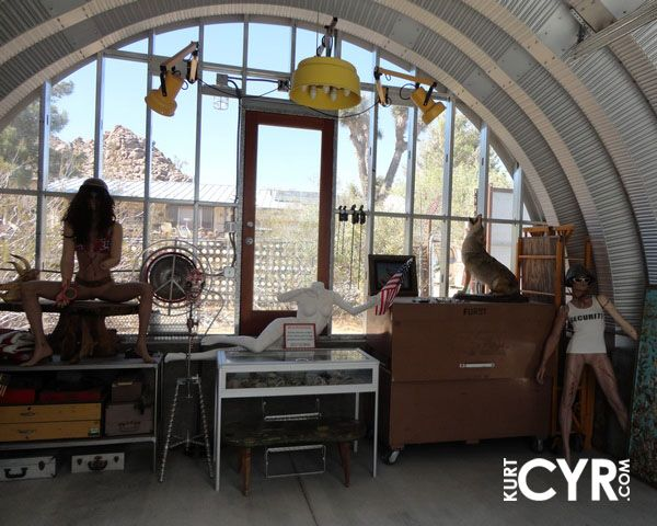 Arches Of A Collection Of Customized Quonset Huts , Was Astounding