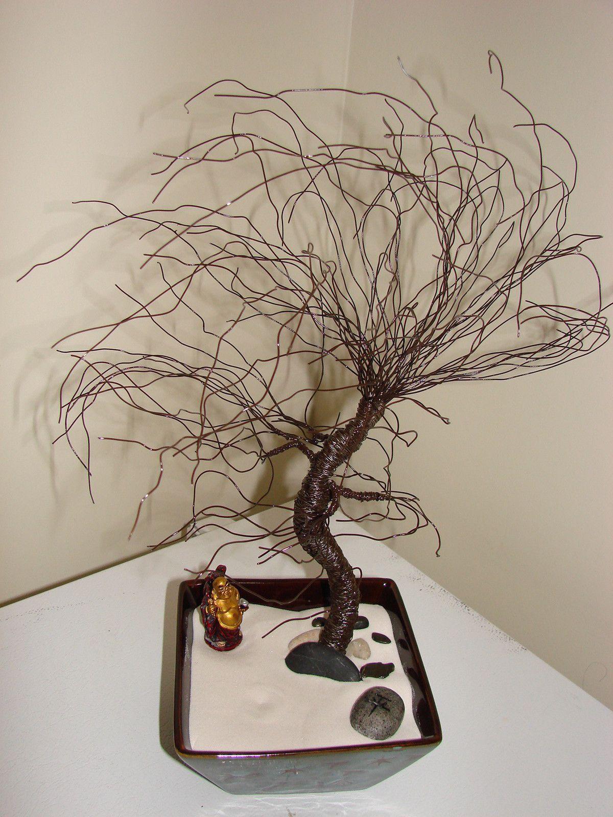 Wire Tree Zen Garden U2022 Make A Wire Tree In Under 120 Minutes