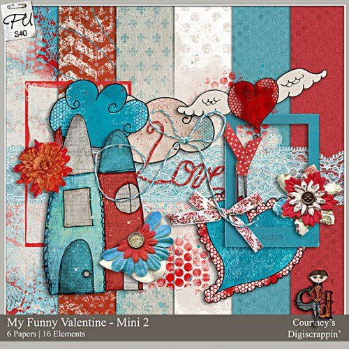 Color Play 17 - My Funny Valentine Mini Pack 2