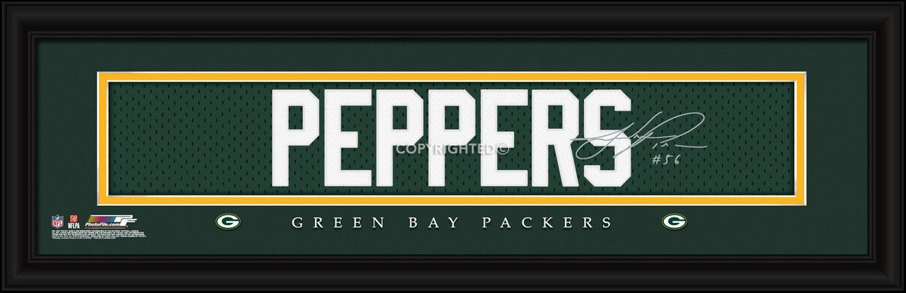 Julius Peppers Green Bay Packers 8\