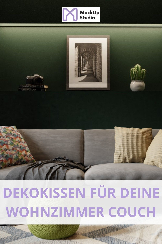 Dekokissen für deine Wohnzimmer Couch  Interior design, Decor
