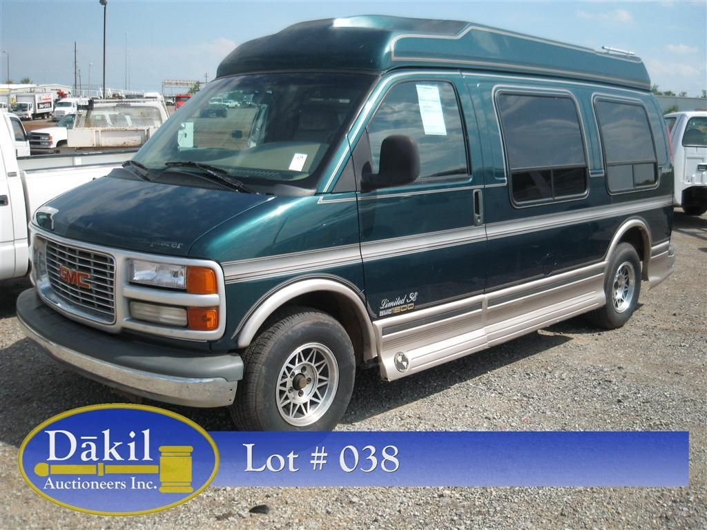 1997 Gmc Savana Conversion Van Conversation Vans Awesome Ebay
