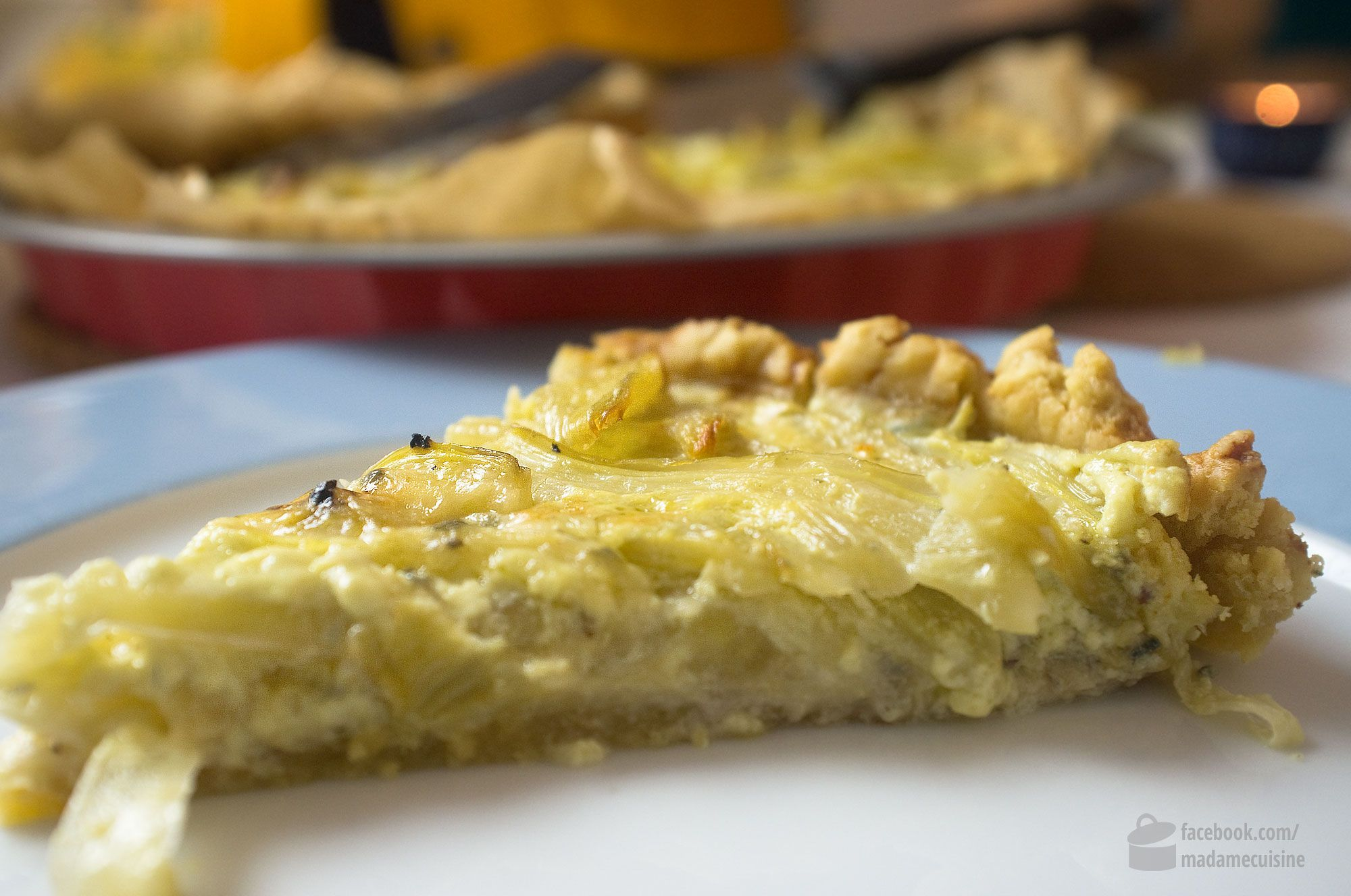 Quiche mit Fenchel - Madame Cuisine