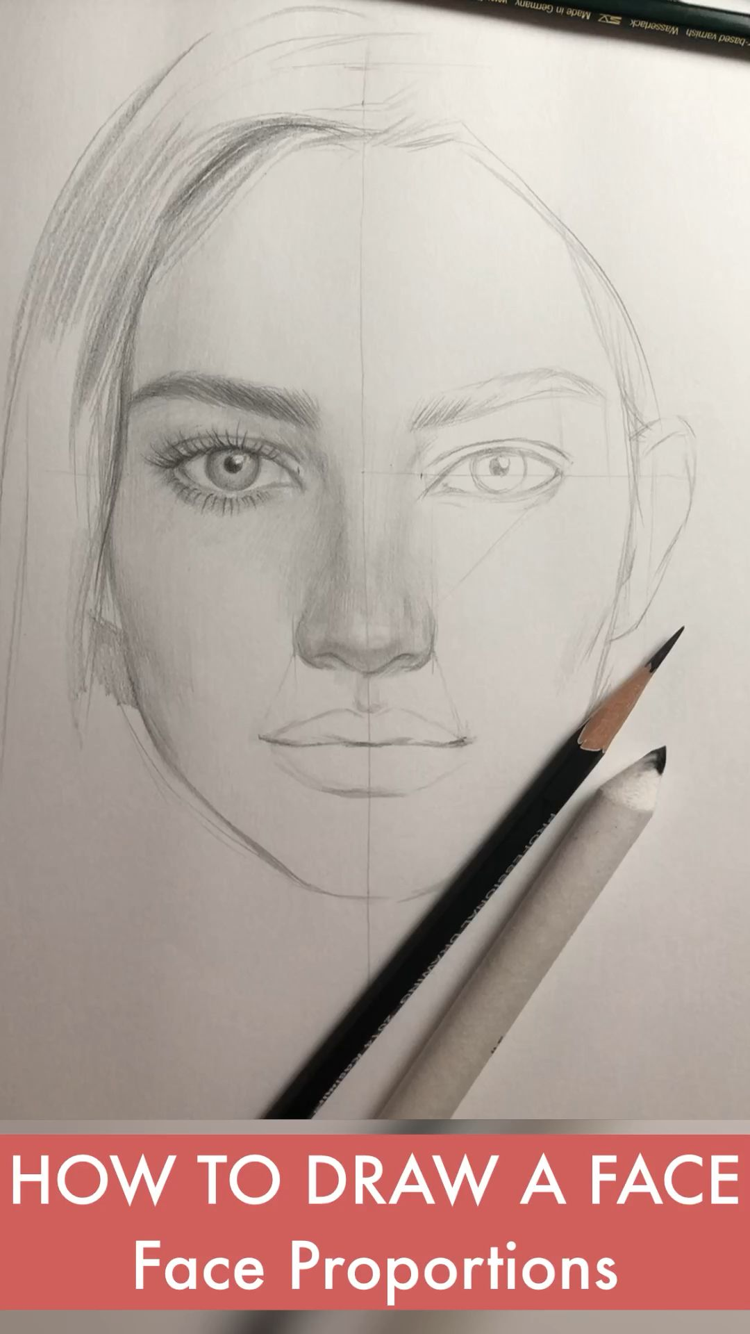 How to draw faces by Nadia Coolrista  – YouTube