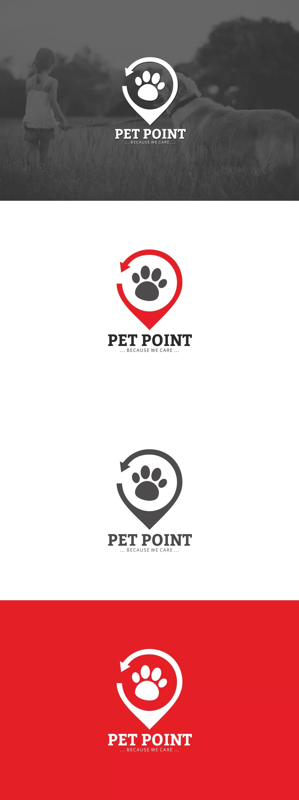 Pet Point Logo By Graphix Shiv On Envato Elements
