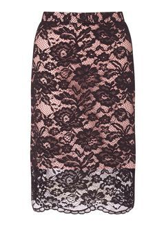 c27c04e5a PREMIUM Black Lace Pencil Skirt | Best for a Night out | Lace ...