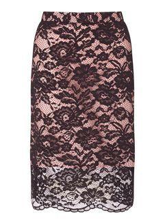 c27c04e5a PREMIUM Black Lace Pencil Skirt | Best for a Night out | Lace ...